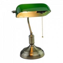 Lámpara de mesa VINTAGE Verde