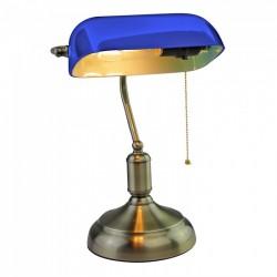Lámpara de mesa VINTAGE Azul