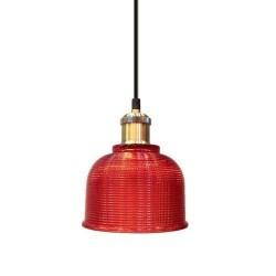 Lámpara Colgante CRISTAL Rojo
