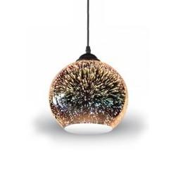 Lámpara CRISTAL Efecto 3D