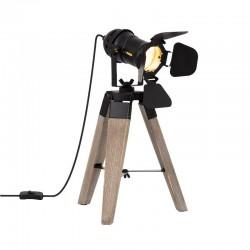 Lámpara de Mesa TRÍPODE Madera