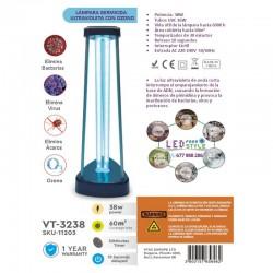 Lámpara Germicida UV-C+OZONO