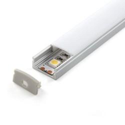 Perfil Aluminio 2m forma U